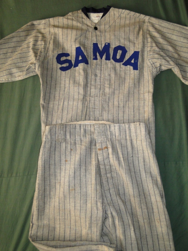 Samoa Baseball Uniform