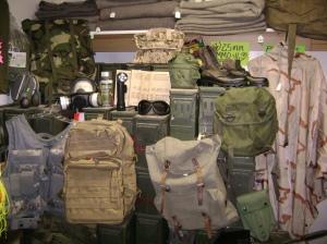 Surplus Store inventory items
