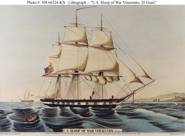 USS Vincennes - Currier