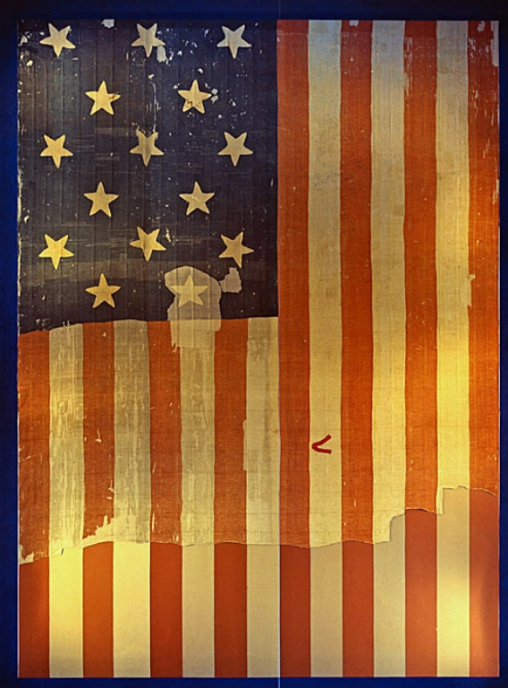 Star Spangled Banner - Smithsonian Institute - ca 1964