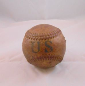 Clearly, a nothing-special WWII Special Services baseball. This is the main image used for the auction.