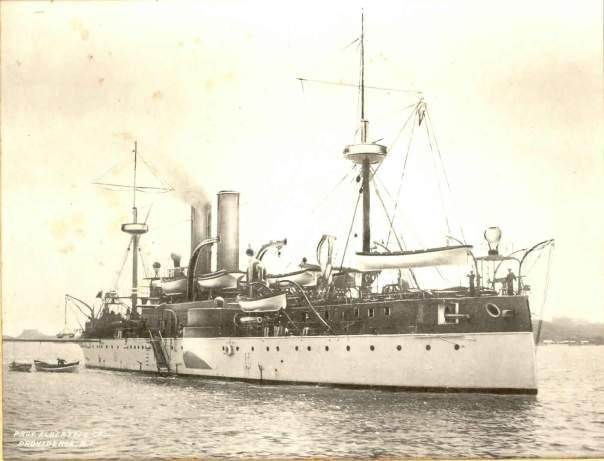 USS Maine ACR-1 – Havana Harbor, 1898