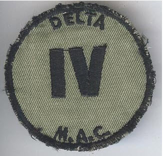 My father, a Viet Nam combat veteran, wore a patch like this on his OD fatigues in country. I have my doubts as to the authenticity of it as a vintage patch, instead it could be one of the thousands currently reproduced in Viet Nam to capitalize on the growing collector market.