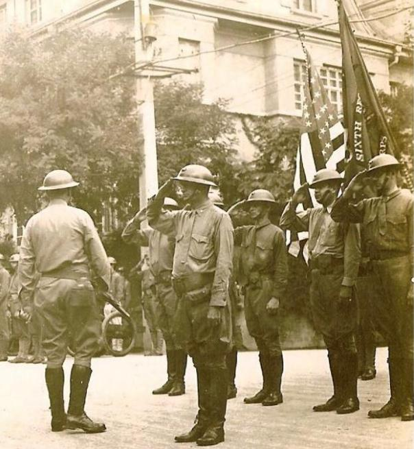 You can clearly see that these interwar-period China Marines lack any SSI (Source: Chinamarine.org).
