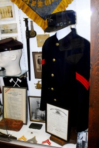 At first glance, Sgt. Gustave Blaither's Spanish American War Uniform Group (located at the Indiana Military Museum) seems to be a normal SpanAm War group display