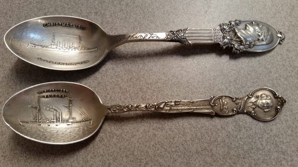 Sterling Navy Spoons