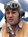"Major Greg ""Pappy"" Boyington during World War II."