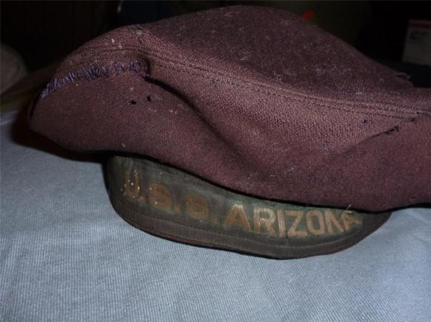 Worth its weight in gold, this flat hat recently sold for nearly $900 at auction (source: eBay image).