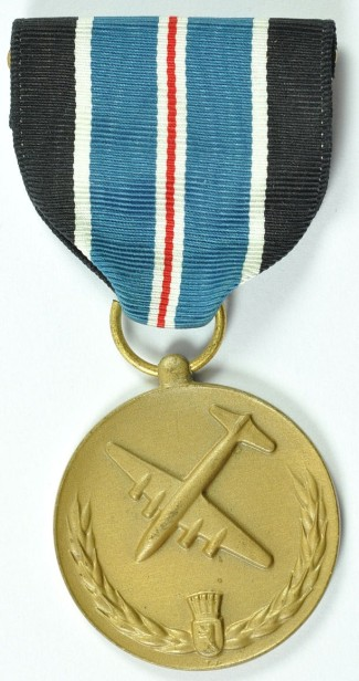 Medal for Humane Action – Berlin Airlift. This medal was awarded to U.S. service personnel for 120 days of participation within the boundaries of the Berlin airlift operations between 26 June 1948 and 30 September 1949.